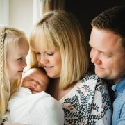 Helen Rowan Photography Lifestyle Home Newborn Baby family little girl natural light