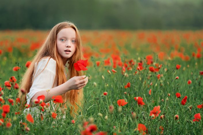 Helen Rowan Photography Chesterfield Family Photographer Outdoors Poppies Redhead