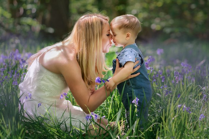 Helen Rowan Photography Chesterfield Family Photographer Spring Outdoors Bluebells