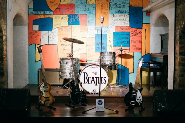 Liverpool with the kids The Beatles Story cavern