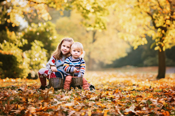 Outdoors Autumn Family Photo Chesterfield